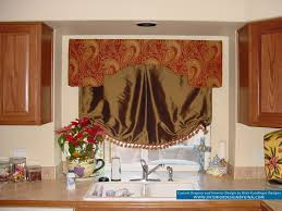 Orange Kitchen Curtains by Aqua Kitchen Curtains Trends And Designs To Make Picture Trooque
