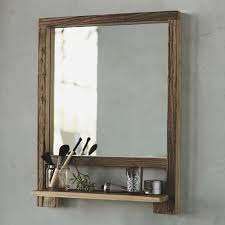 Vintage Bathroom Mirror Vintage Bathroom Mirror With Shelf Home Design Ideas