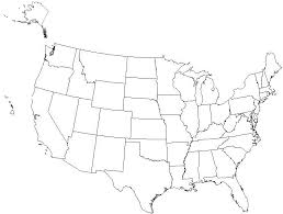 us map fill in us map quiz map of usa states