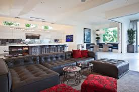 Joint Living Room And Kitchen What Kind Of House Does 12 Million Buy In Bel Air