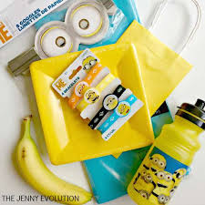 minion gift bags minion birthday party free cm large size despicable me foil