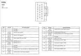 2002 lincoln ls radio wiring diagram 2002 wiring diagrams collection