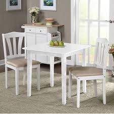 Black Dining Table White Chairs White Kitchen U0026 Dining Room Sets You U0027ll Love Wayfair