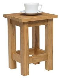 Small Side Table Waverly Oak Small Side Table In Light Oak Finish Solid Wooden