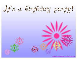 birthday party invitations birthday party invitations wblqual