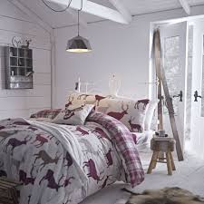 Brushed Cotton Duvet Covers Buy Grampian Stag Brushed Cotton Flannelette Bedding Single