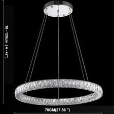 Galaxy Chandelier 1 Ring Led Pendant Light Ceiling L Galaxy Chandelier