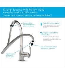 moen motionsense kitchen faucet satin moen motionsense kitchen faucet wide spread two handle pull