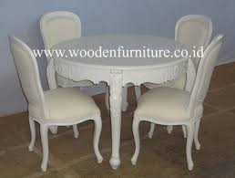 Classic Dining Chairs French Style Dining Chair Round Dining Table Classic Dining Room