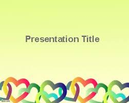 powerpoint templates free download heart free hearts powerpoint templates