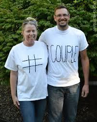 quick u0026 simple t shirt couples halloween costumes