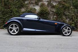 chrysler prowler 2001 prowler midnight blue chrysler prowler mulholland edition