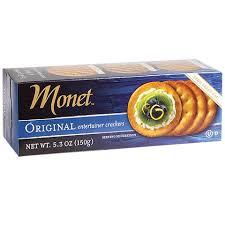 bulk monet original entertainer crackers 5 3 oz boxes at