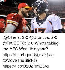 Chiefs Broncos Meme - 25 best memes about memes memes meme generator