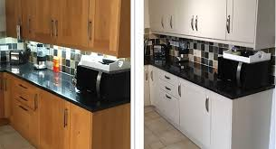 spray painting kitchen cabinets scotland home your expert kitchen refacing specialist