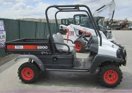 2007 bobcat 2200 utility vehicle item 3050 sold may 19