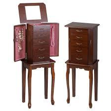Free Standing Full Length Mirror Jewelry Armoire Bedroom Amazing Jewelry Chest Full Length Mirror Jewellery