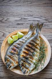 dorade cuisine grilled dorade royale fish stock image image of fresh 75858733