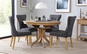 Extendable Dining Table Hudson Extending Dining Table 4 Chairs Set Bewley Slate