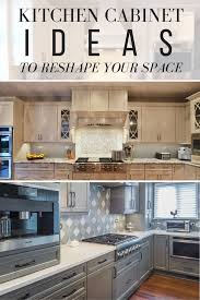 kitchen cabinet ideas to reshape your space