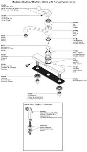 delta kitchen faucet single handle delta single handle kitchen faucet repair arminbachmann com