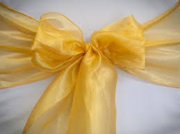 Gold Chair Sashes Chair Sash Gallery U2014 Specialty Linens And Chair Covers