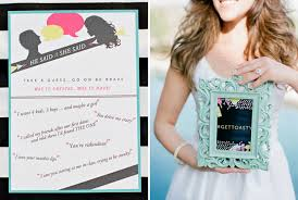 gift card bridal shower a black dress bridal shower
