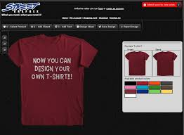 Street Graphex - Design your own t shirt at home