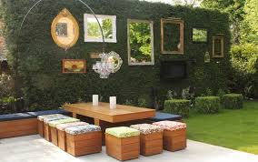 green wall decor how to beautify your house outdoor wall décor ideas