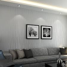 wallpaper livingroom non woven 3d wallpaper print embossed modern stripe fashion