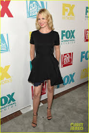january jones u0026 ashley madekwe bring chic style to fox u0027s comic con