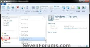 membuat grup kontak di yahoo mail windows live mail export and import contacts windows 7 help forums