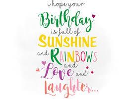 birthday wishes svg etsy