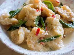 cuisine recipes purple bowl butter prawn 奶油虾 recipe malaysian cuisine