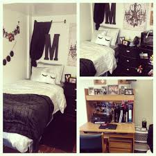 black cream and grey college dorm room for my daughter love