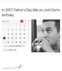 Black Fathers Day Meme - in 2017 father s day falls on josh dun s birthday jun 2017 4 5 7 8 9
