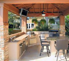 Outdoor Barbecue Kitchen Designs Outdoor Bbq Kitchen Ideas Coryc Me