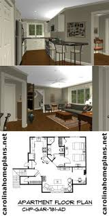 Floor Plan Apartment Design Small Scale Homes Floor Plans For Garage To Apartment Conversion