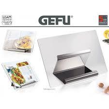 porte livre de cuisine le lutrin de cuisine gefu libro est un porte livre muni d un grand