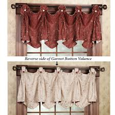 mesmerizing button valance 134 button up valance box pleat button