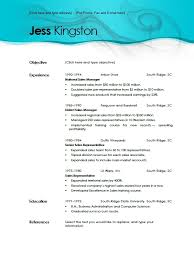 Microsoft Office Resume Templates 2010 Resume Templates In Word 2010 5 Browse Template Accessing Resume