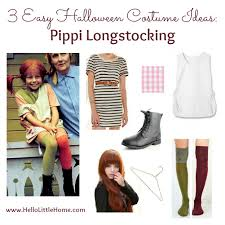 pippi longstocking costume 3 easy costume ideas pippi longstocking hello home