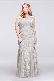 Wedding Dresses For Larger Ladies Plus Size Prom Dresses U0026 Gowns For 2018 David U0027s Bridal