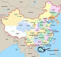 Macau China Map by Hainan Island Travel Guide Beach Guide Hainan Island China