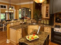 room kitchen cabinets open floor plan dining living design with