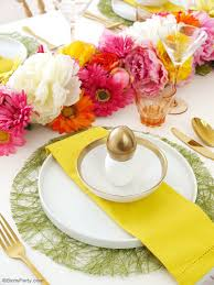 Easter Restaurant Decorations by A Modern Floral Easter Brunch Party Ideas Party Printables