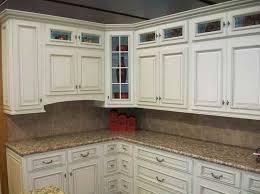 White Kitchen Cabinets Kitchen Marvelous Antique White Maple Glazed Kitchen Cabinets