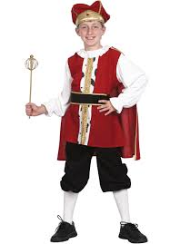 medieval king costume for kids historical fancy dress escapade uk
