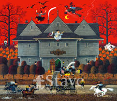 halloween jigsaw puzzles witches u0027 brew a traditional puzzle stave puzzles