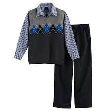 sweater vest for boys 4 7 chaps argyle sweater vest set